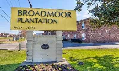 Community Signage, Broadmoor Plantation, 2