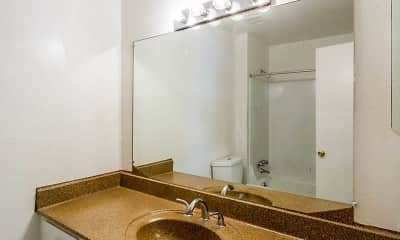 Bathroom, Northern Pines Apartments, 2