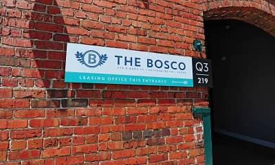 Community Signage, The Bosco, 2