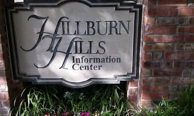 Community Signage, Hillburn Hills Apartments, 2