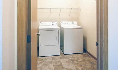Bathroom, Amber Pointe Apartments, 2