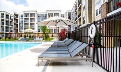 Pool, The Flats at Austin Landing, 1