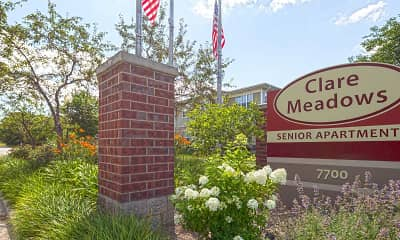 Community Signage, Clare Meadows Senior Apartments, 0