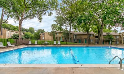 Pool, Timberline Apartments, 0