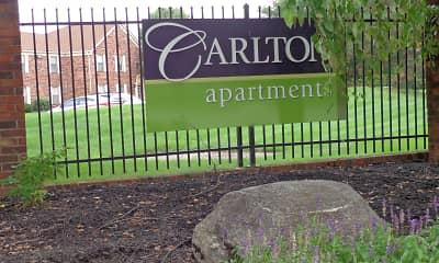 Community Signage, Carlton Apartments, 1