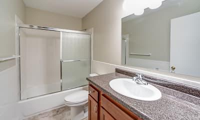 Bathroom, Farmington Line, 2
