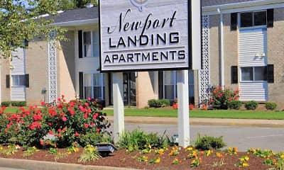 Building, Newport Landing Apartments, 2