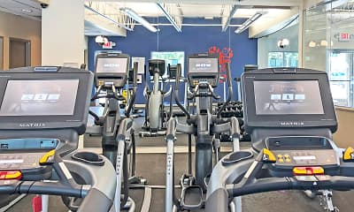 Fitness Weight Room, Pepperwood Apartments And Townhomes, 2