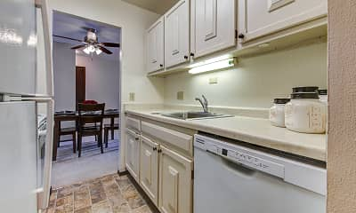 Kitchen, The Carolina Apartments, 1