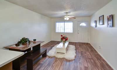 Living Room, Orangewood Place, 1