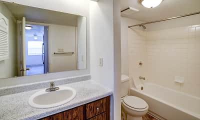 Bathroom, The M Club Apartments, 2