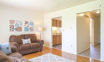 Living Room, Country Way Apartments, 0