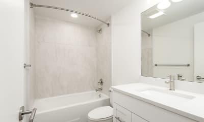 Bathroom, Eagle Gate Apartments, 1