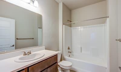 Bathroom, White Hawk Townhomes, 2