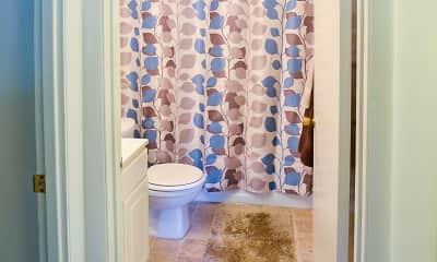 Bathroom, Anderson Square Apartments, 2