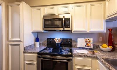 Kitchen, The Preston Apartments, 1