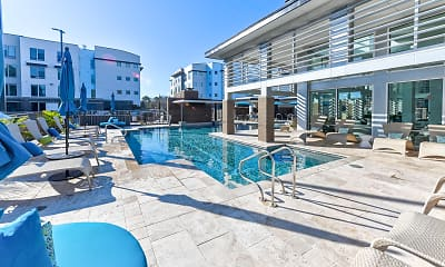 Pool, Lumen Apartments, 1