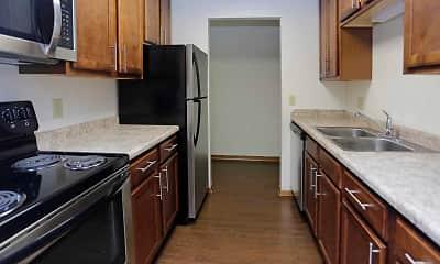 Kitchen, Eagle Ridge Apartments, 1