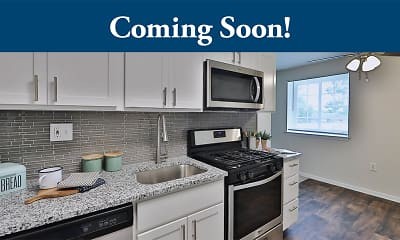 Kitchen, Squires Manor Apartment Homes, 0