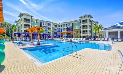 Pool, Lakeside Walk Apartments, 0