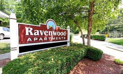 Community Signage, Ravenwood Apartments, 1