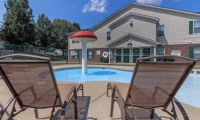 Pool, Madison Ridge Apartments, 1
