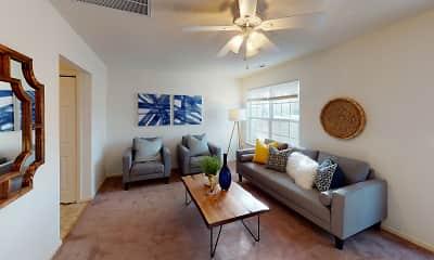 Living Room, Noah at Yorkewood, 2