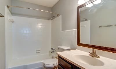 Bathroom, Audubon Briarcliff, 2