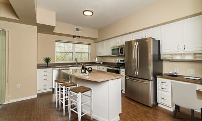 Kitchen, Lake Hazeltine Woods, 0