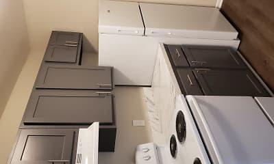 Kitchen, Greyberry Apartments, 0