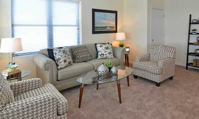 Living Room, Lakeview Terrace, 0