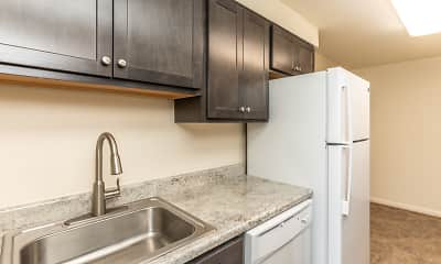 Kitchen, Foxridge Townhomes, 0