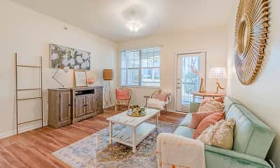 Living Room, Signature at Southern Oaks, 1