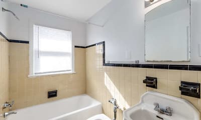 Bathroom, Covington Terrace, 2