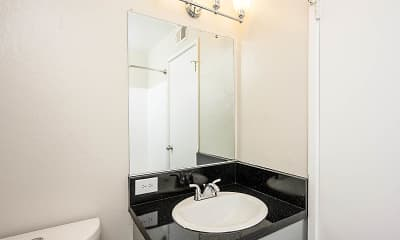 Bathroom, Hillside Garden Apartment Homes, 2