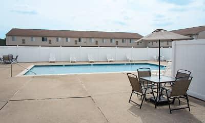 Pool, Goddard Court, 1
