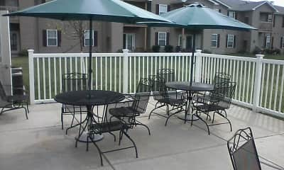 Patio / Deck, Lancaster Commons Senior Apartments, 2