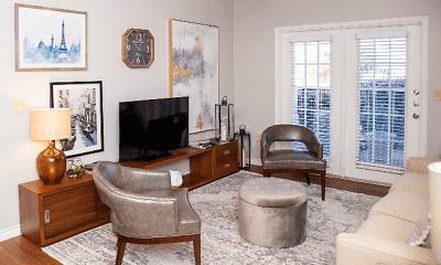 Living Room, Advenir at Mayfield, 1