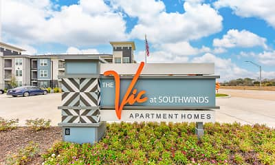 Community Signage, The Vic at Southwinds Apartments, 2