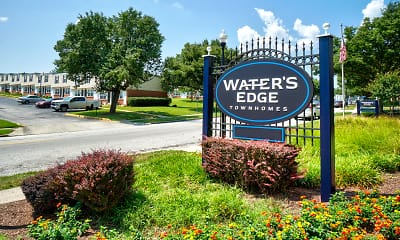 Community Signage, Water's Edge Townhomes, 0