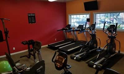 Fitness Weight Room, Prestonwood, 2