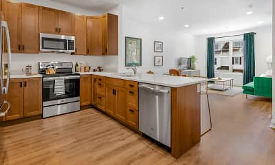Kitchen, Star Deluxe Apartments, 1
