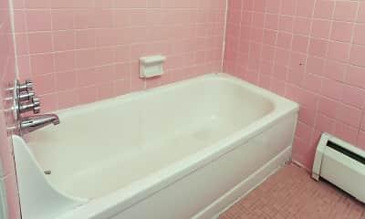 Bathroom, Rochester House Apartments, 2