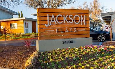 Community Signage, Jackson Flats, 0