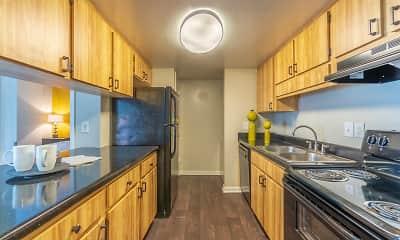 Kitchen, Laurel Oaks Apartments, 0