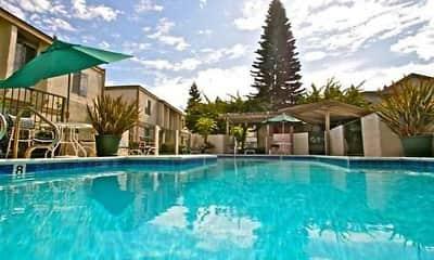 Pool, Cedar Glen Apartments, 2