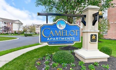 Community Signage, Camelot at Cinnaminson, 2