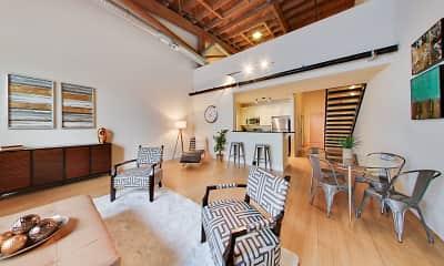 Living Room, West Village, 1