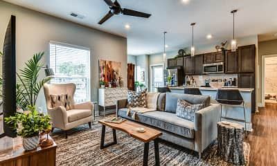 Living Room, The Jacqueline Apartments, 1