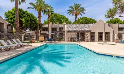 Pool, Meadow Glen Apartments, 0